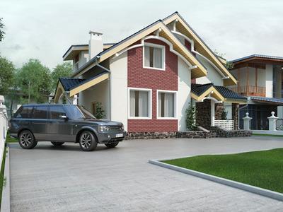 """Проект дома """"Кленовый лист"""""""