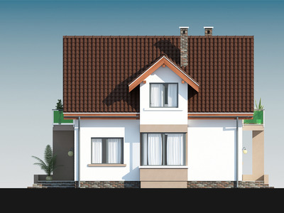 """Проект будинку """"Мілош-2"""""""