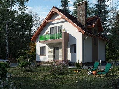 "Проект дома ""Милош-2"""