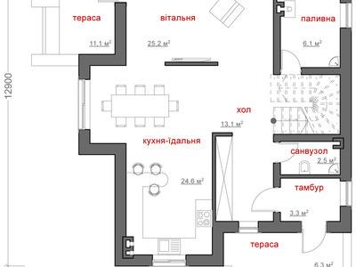 """Проект будинку """"Омелян"""""""