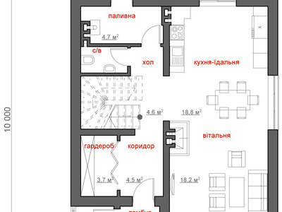 """Проект будинку """"Тимур"""""""