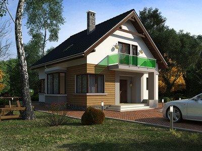 """Проект будинку """"Мілош"""""""