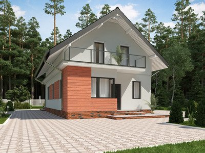 """Проект будинку """"Віталій"""""""