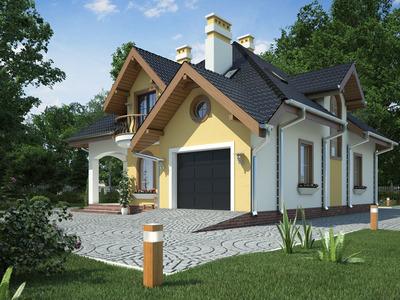 """Проект будинку """"Браун"""""""