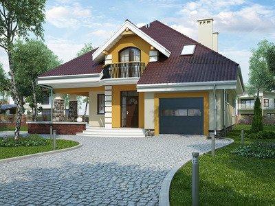 """Проект дома """"Любисток Моде"""""""