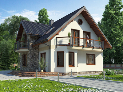 """Проект дома """"Клара-Моде"""""""