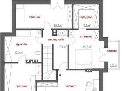 """Проект будинку """"Мрія"""""""