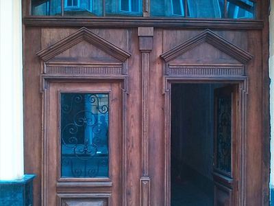 Реставрация дверей, Дудаева, 2014