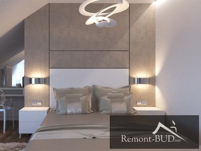 Спальня в мансардному приміщенні