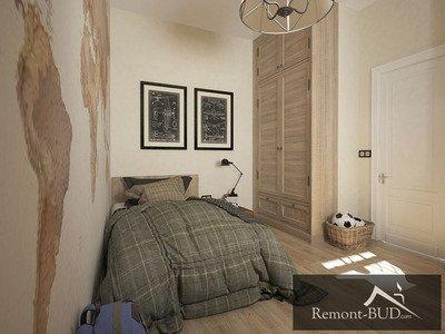 Спальня в стилі техно