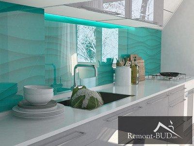 Кухня в морському стилі