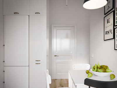 Кухня в стилі мінімалізм