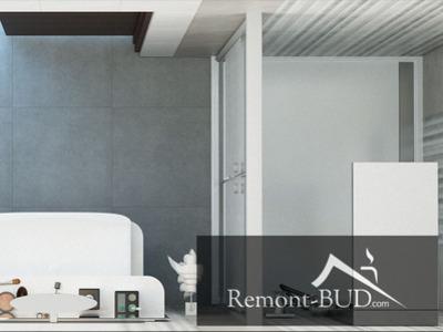 Ванная комната в серых тонах