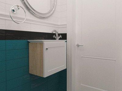 Ванна кімната в стилі модерн