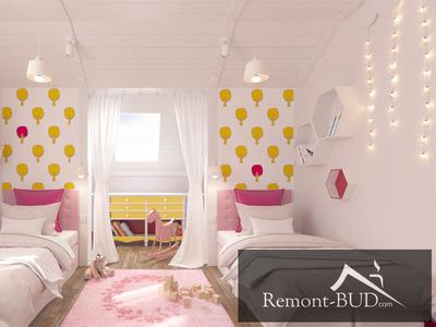 Дитяча кімната для маленьких принцес