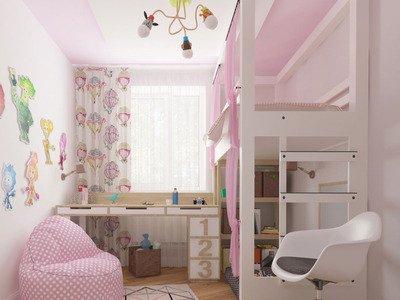 Детская комната для маленьких принцесс