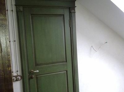 Дерев'яні двері у Львові під замовлення