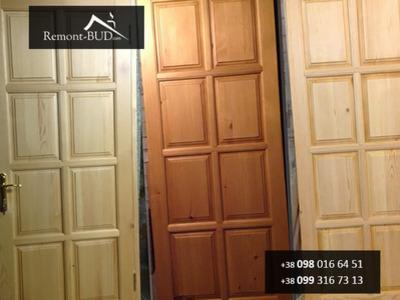Сосновые двери под заказ